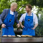 Heads Together BBQ - From left to right - Iwan Thomas, PH