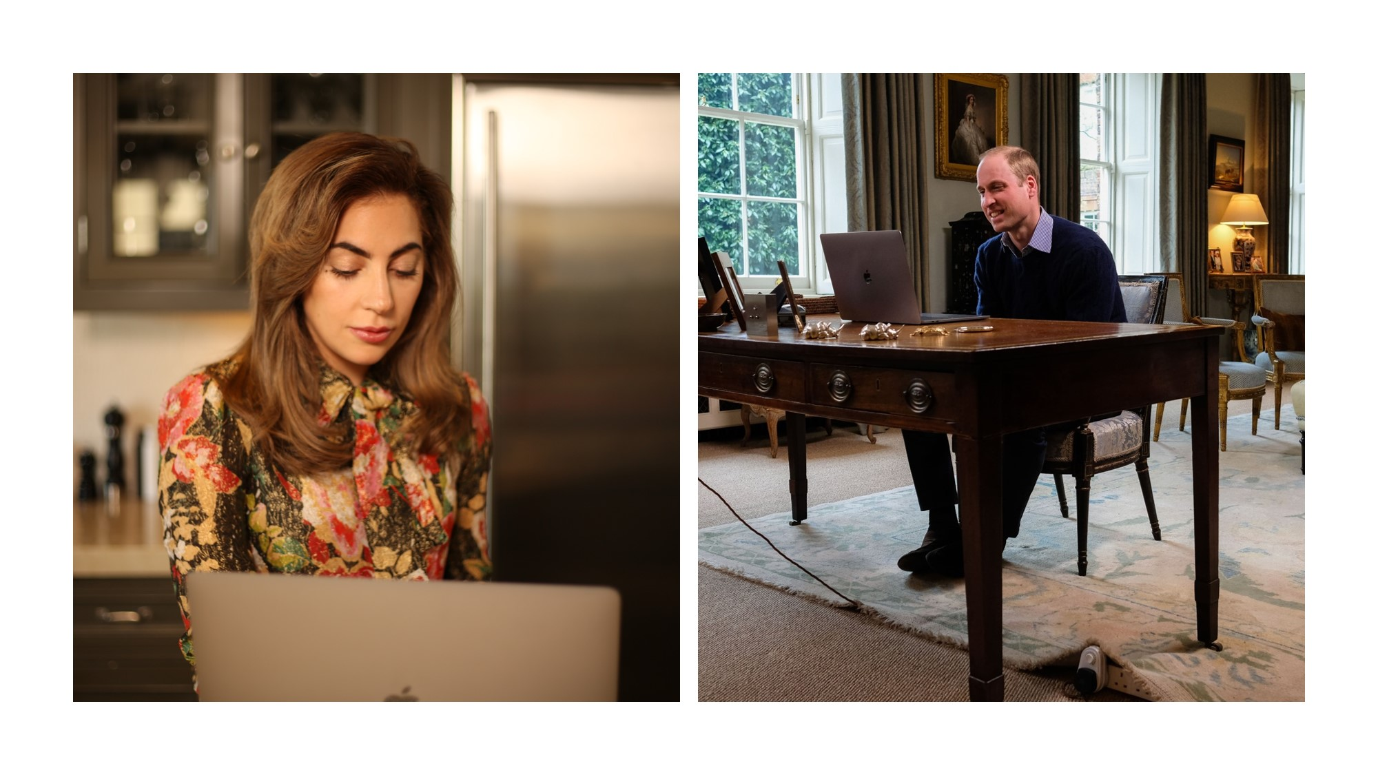 Lady Gaga and Prince William