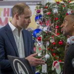 The Duke of Cambridge speaks with AJ King, Kiss FM DJ