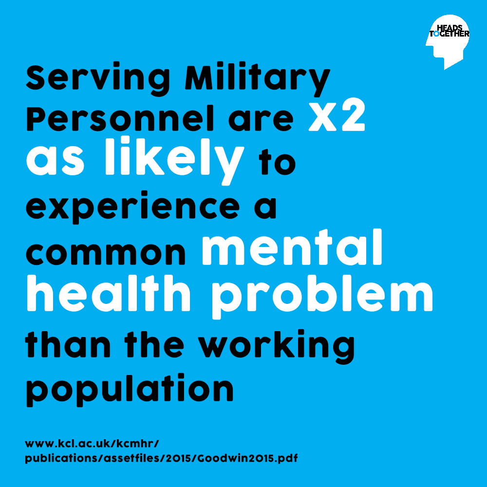 Changing The Conversation On Military Mental Health Heads Together