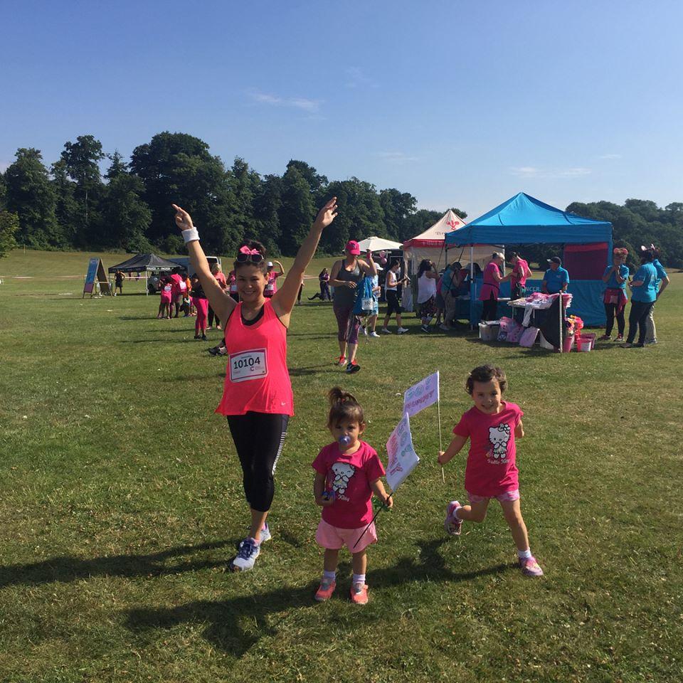 Sammi Croydon Race for Life